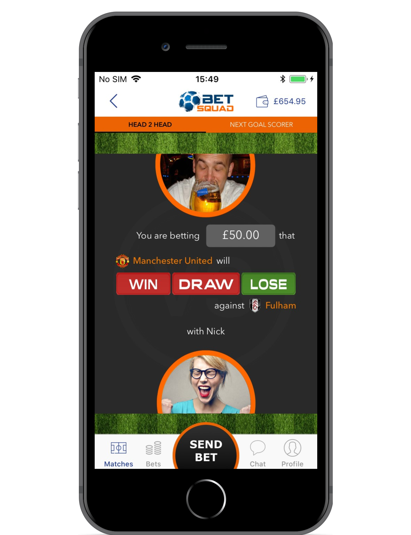 Bet Squad – Bet Real Money with your Friends